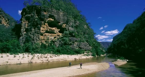 Colo River, Wollemi National Park