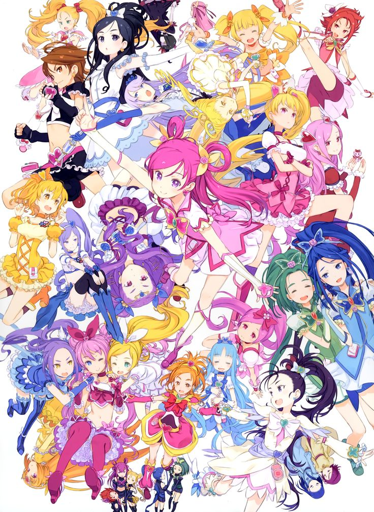 Pretty Cure soldiers