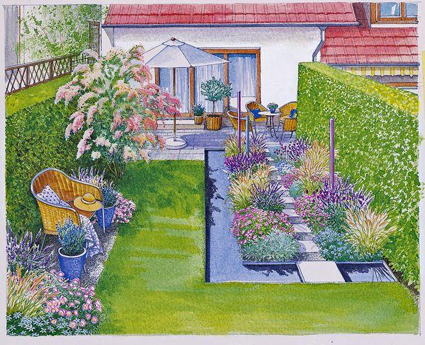 Ein Reihenhausgarten aus der Reihe - Mein schöner Garten