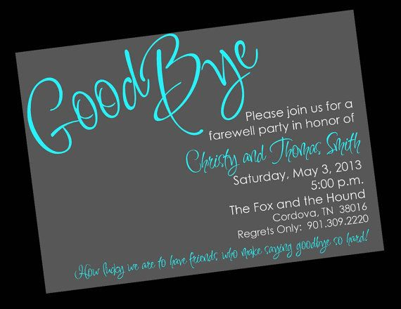 College Going Away Party Invitation Wording was beautiful invitations example