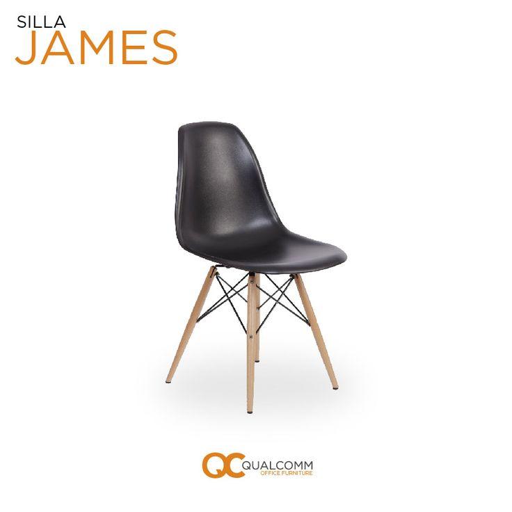 La serie James inspira creatividad a los espacios gracias a su diseño. Su variedad de componentes y cómodo ensamble hacen que la gente no pueda evitar elegirla como primera opción. #DiseñoInterior #InteriorDesign #GetOrange #QC #Office #Furniture #James #Chairs