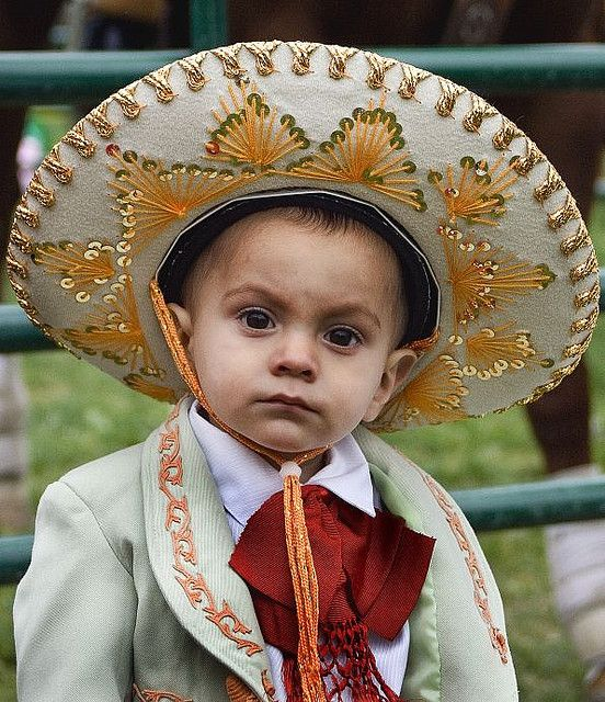 Kid In Mariachi Suit