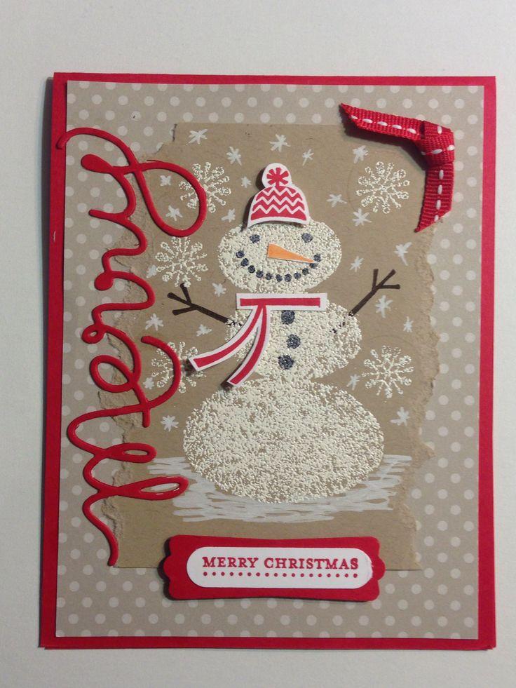 free ecard christmas party invitations%0A Snowman Christmas card