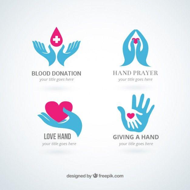 Mãos logos