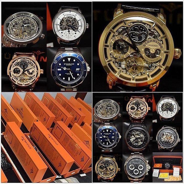 #PROMOÇÃO! Relógios masculinos Importados Stuhrling Original na caixa, ÚLTIMAS UNIDADES, CLIQUE AQUI E CONHEÇA: http://demidiodesign.com.br/relogios.html