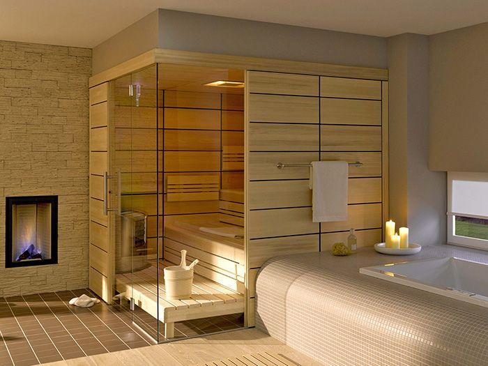 9 best Les saunas sur-mesure images on Pinterest Saunas, Steam - faire un sauna maison