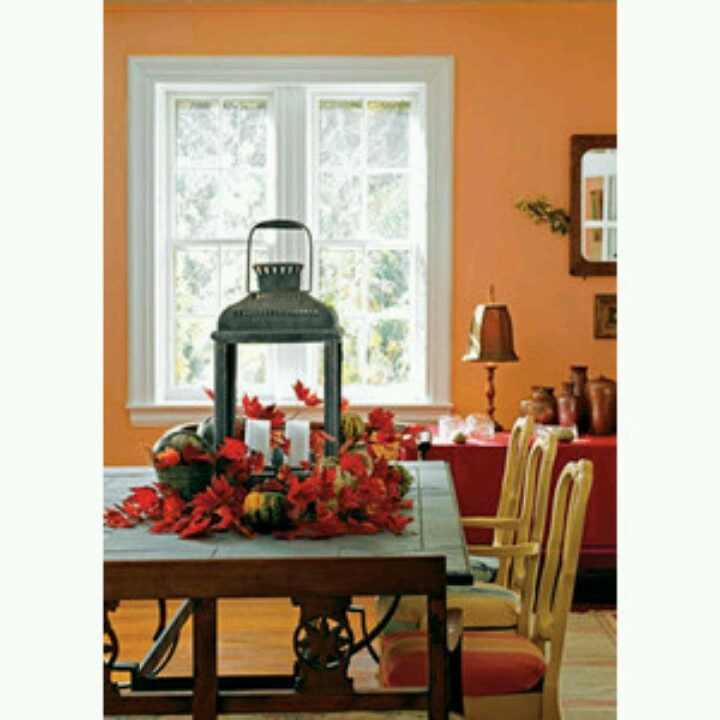 Dining Table Centerpiece Fall Harvest Ideas Pinterest