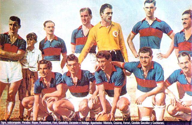 Equipos de fútbol: TIGRE 1952