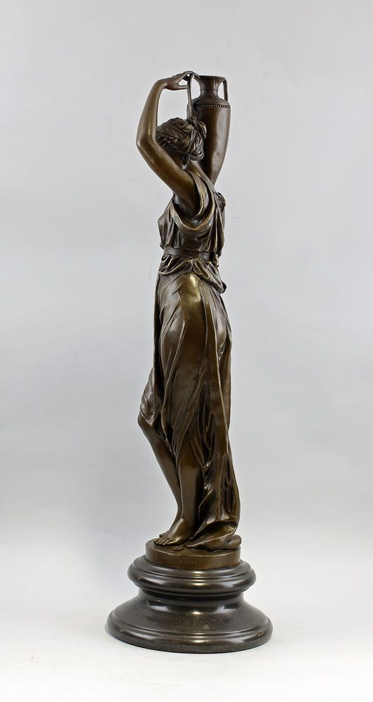 Bronze Figur altgriechische Wasserträgerin  Amphorenvase Carrier NEU 9937721-dss | Antiquitäten & Kunst, Kunst, Plastiken & Skulpturen | eBay!