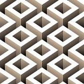optique art : boîtes abstraites 3d seamless pattern Illustration