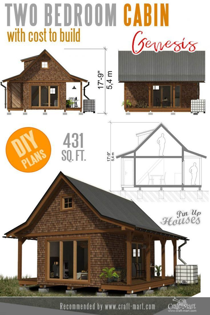 Awesome Small And Tiny Home Plans For Low Diy Budget Small House Plans Small House Floor Plans Small House