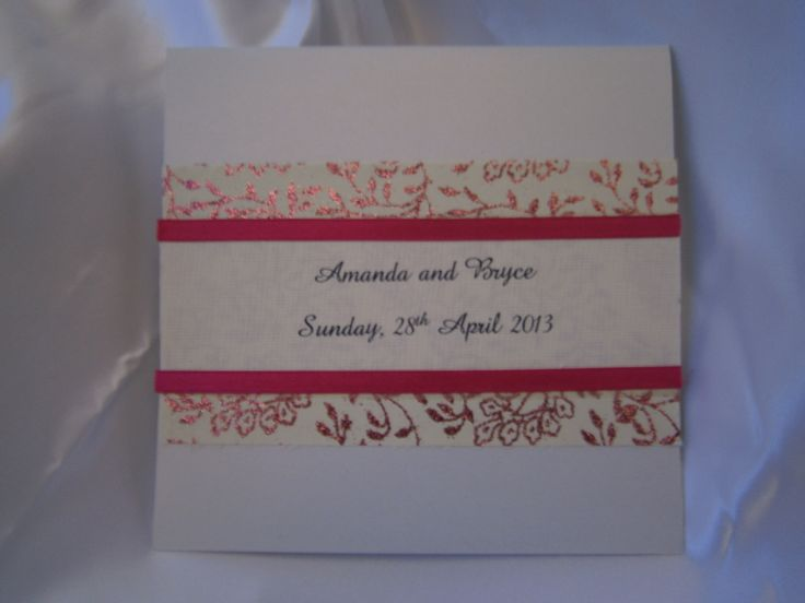 """Angelina"" - Wedding Invitations https://www.facebook.com/LuPerlaInvitations"