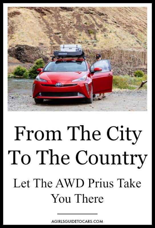 Let the AWD Toyota Prius Take You From the City to the Country