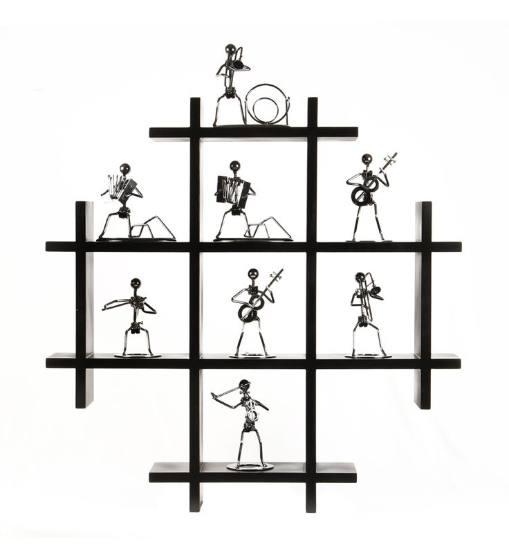 Safal Pine Wood Wall Rack - Black by Safal Quartz Online - Wall Shelves - Home Decor - Pepperfry Product