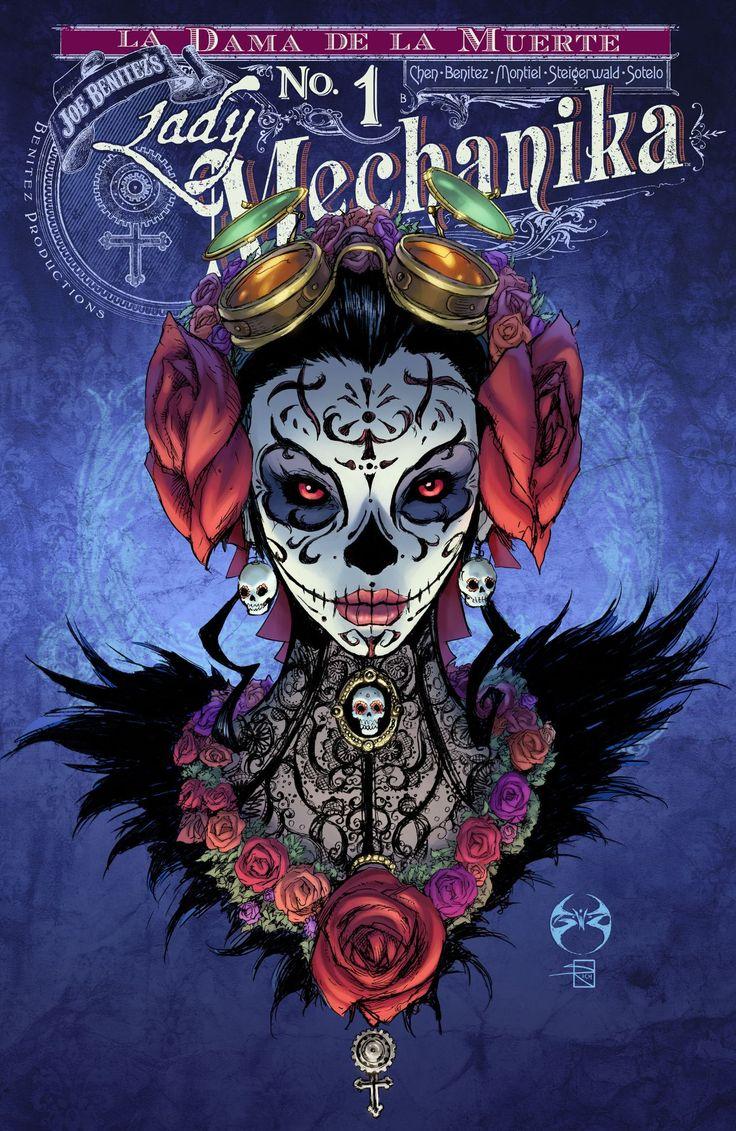 Lady Mechanika: La Dama de la Muerte #1 #BenitezProductions #LadyMechanika #LaDamaDeLaMuerte Release Date: 9/28/2016