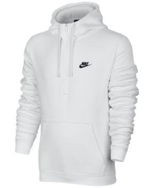 nike fleece hoodie mens