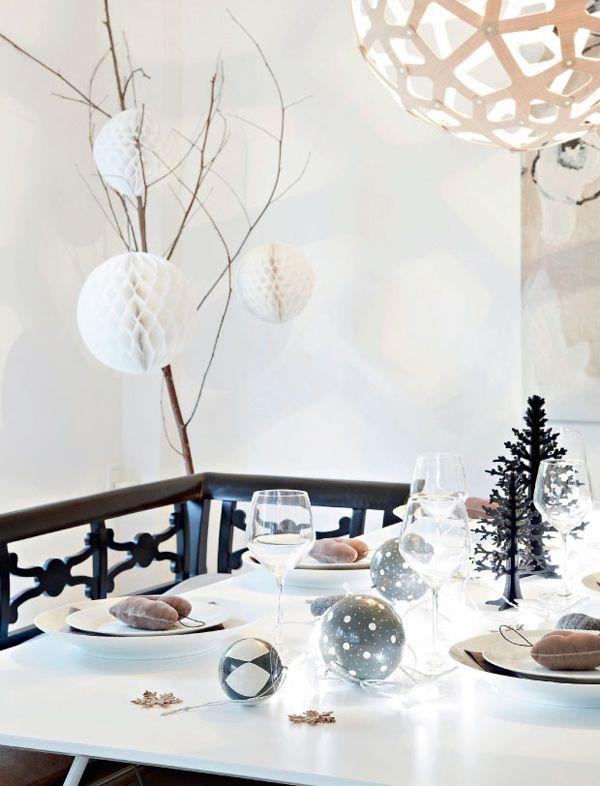 Binnenkijken in een winters huis