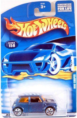 #2001-158 Mini Cooper 5-Hole Wheels Mattel Hot Wheels 1:64 Scale Collectible Die…