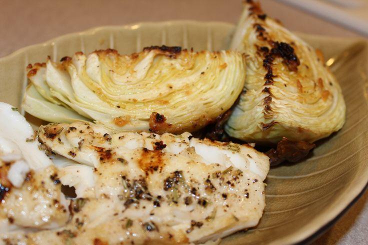 Mahi Mahi and Cabbage