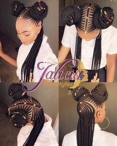 """1,991 Likes, 52 Comments - Jalicia HairStyles (@jalicia35) on Instagram: """"#tribalhairstyle #protectivestyles #nubianqueen #twoknots #caribbeanhairstylist #jaliciahairstyles"""""""