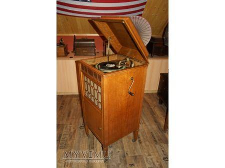 vintage gramophone Edison Diamond Disc S-19 Sheraton-Sans Inlay, stary gramofon