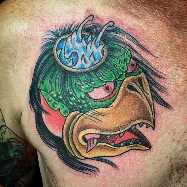 kappa tattoo by terry frank ink and ideas pinterest terry o 39 quinn and tattoos and body art. Black Bedroom Furniture Sets. Home Design Ideas