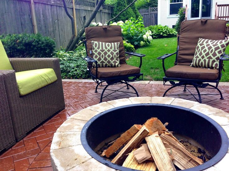 Home With Keki: Outdoor Patio & Fire Pit // Parte Tres