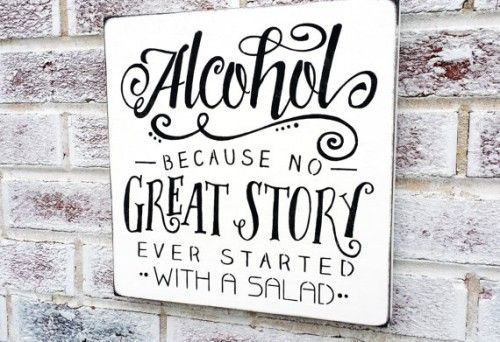 Great sign for any party, wedding, home bar, man cave!   Approx 12x12