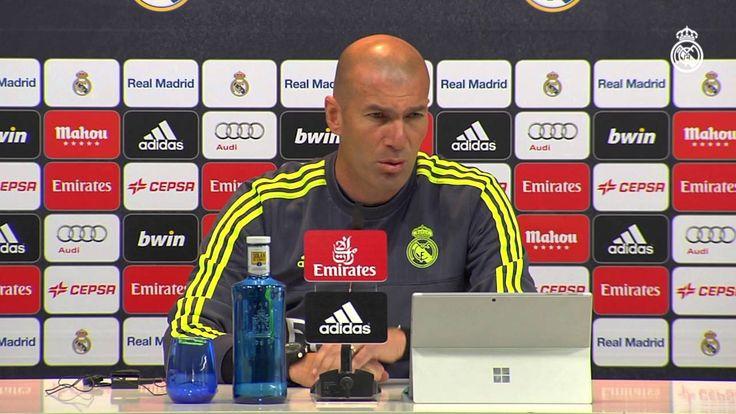 Sergio Ramos Zidane nos habla sobre el próximo partido contra el Getafe