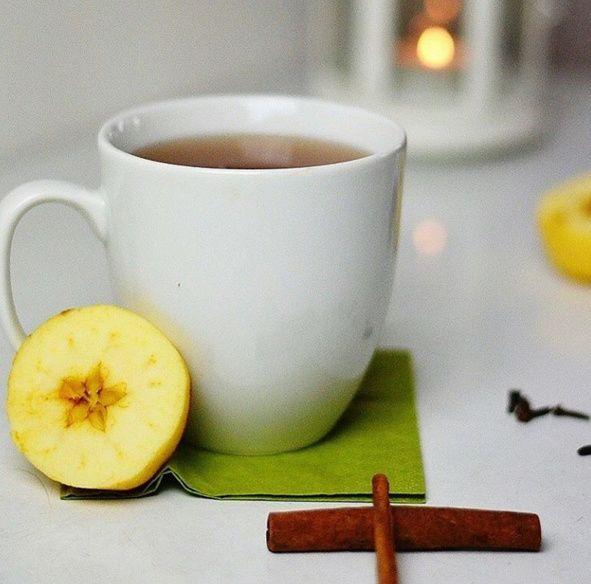 Teplý jablečný mošt