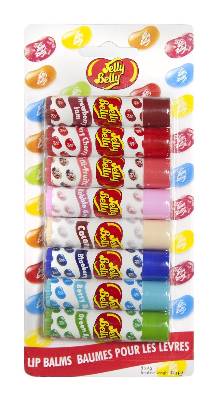 Jelly Belly Lip Balm, Party - 8-Piece: Amazon.co.uk: Beauty