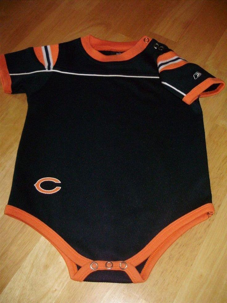 Chicago Bears NFL Reebok Kids Baby Boy One Piece Bodysuit Creeper 18 Months #ReebokKids #Everyday