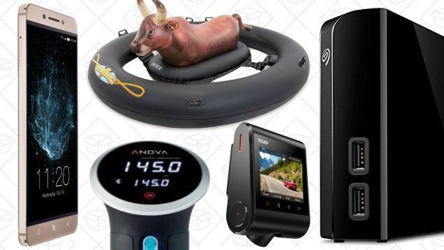 Saturdays Best Deals: LeEco Smartphone Anova Sous-Vide Anker Dash Cam and More