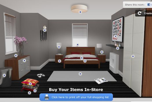 IKEA App Uses Facebook Info To Customize Your Bedroom