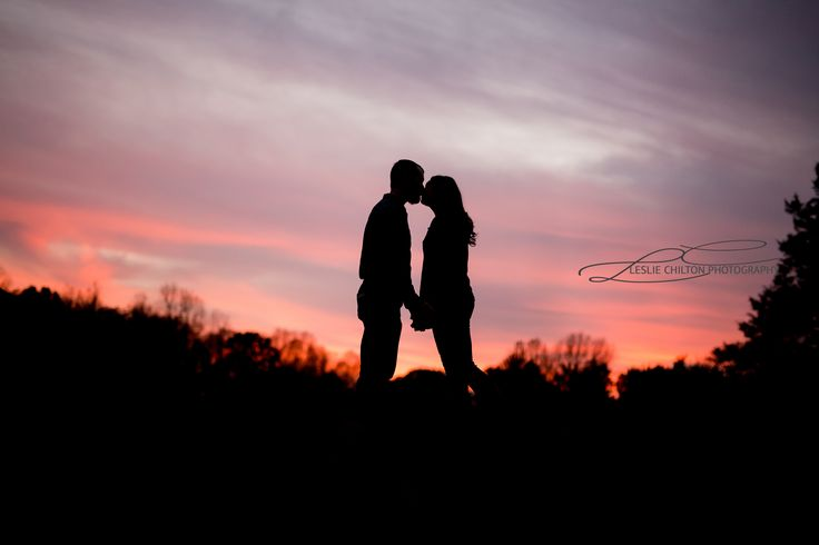Couples Photography Sunset Silhouette Photography