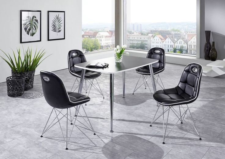 Schalenstuhl ANJA ergonomisch in 2er Set Schwarz / Weiß Jetzt bestellen unter: https://moebel.ladendirekt.de/kueche-und-esszimmer/stuehle-und-hocker/esszimmerstuehle/?uid=d9fbebc0-d42c-5ce7-b98d-30661397c562&utm_source=pinterest&utm_medium=pin&utm_campaign=boards #stühle #kueche #bänke #esszimmerstuehle #esszimmer #hocker #stuehle Bild Quelle: www.wohnorama.de