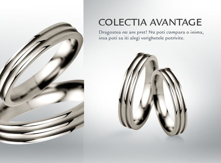 Avantage  Colectia de verighete si bijuterii de nunta by CORIOLAN #nunta #wedding