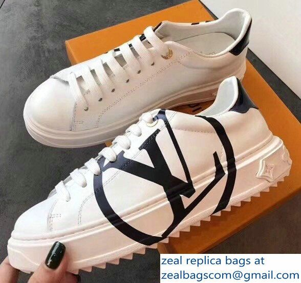c81b8b5fce Louis Vuitton LV Time Out Sneakers White/Black 2018 | Luxury Shoes ...