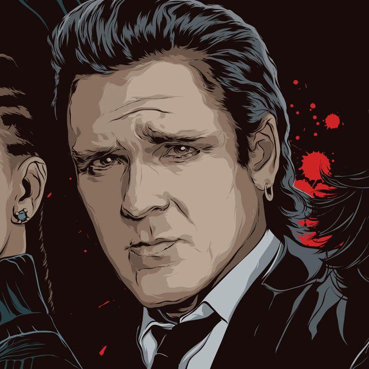 Michael Madsen - Kill Bill - Art by Mondo