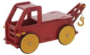 Moover Wooden Ride On Pick Up Truck