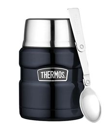 Thermos Stainless King Food Flask Blue 0.47L