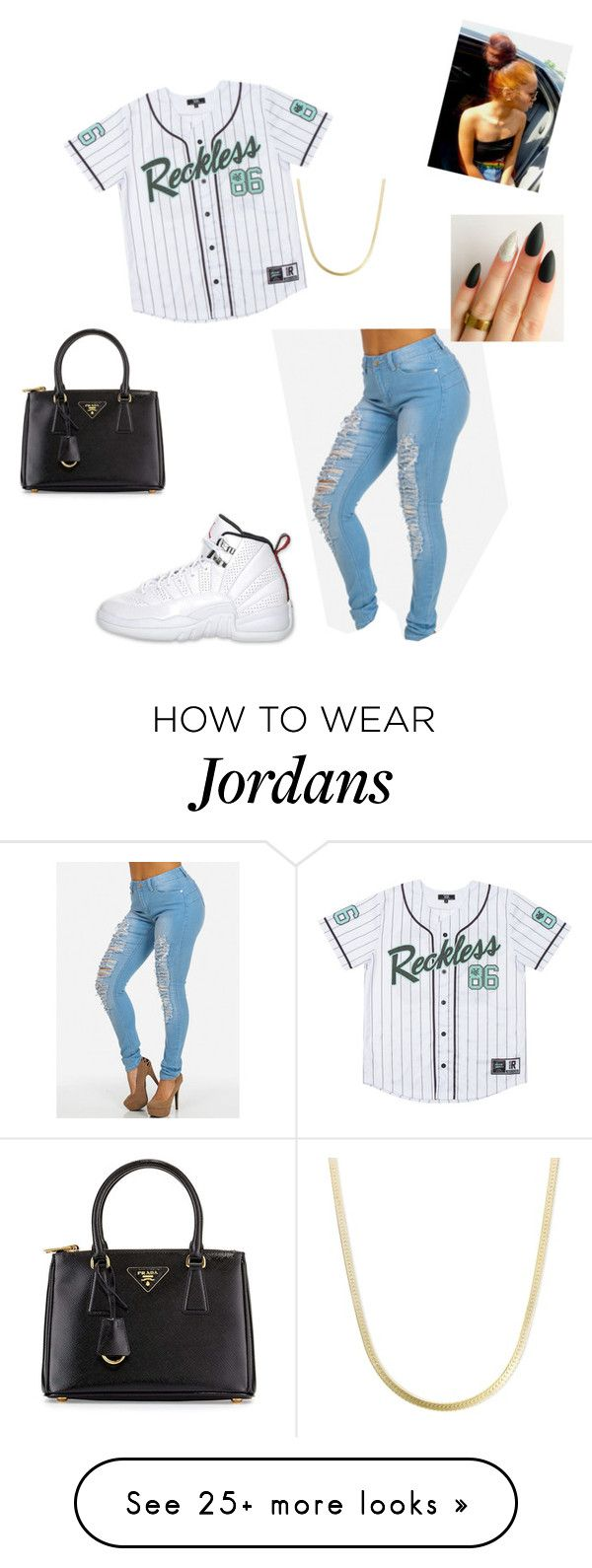 """Pm me-Tracy"" by mindless-loyalty on Polyvore featuring Retrò and Prada"