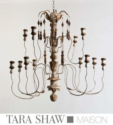 Tara Shaw Italian Chandelier - Medium 12 Arm - Magnificent!