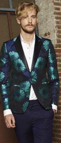 Brian Dales Flower Jacket