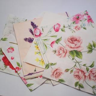 Decoromana: My technique - napkin decoupage -pros and cons