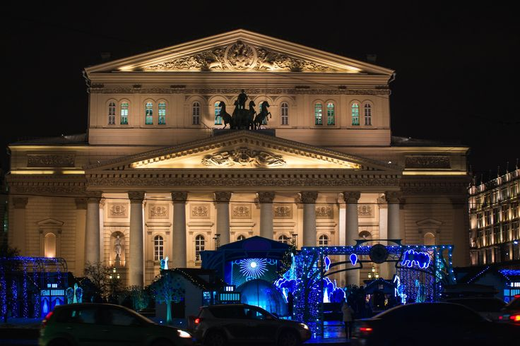 Bolshoi theatre in Moscow by Victor Yastrebov on 500px
