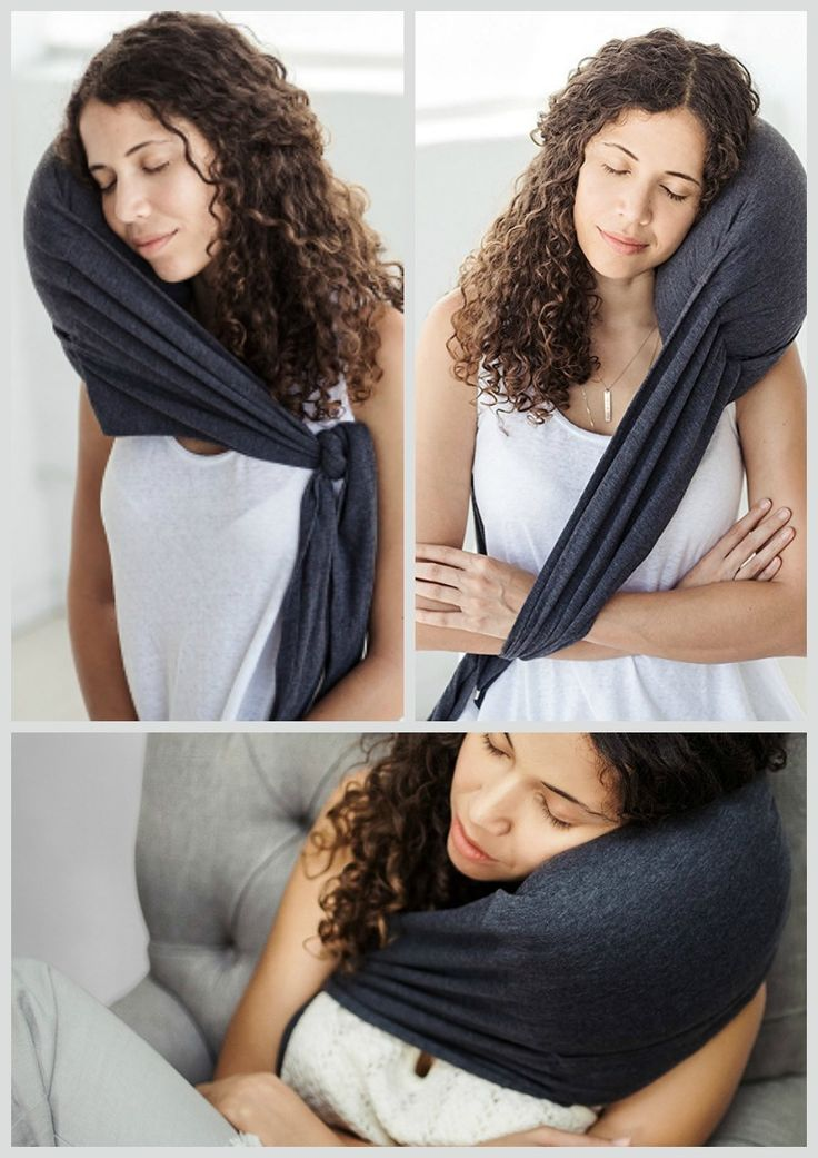 Finally! A Travel Pillow that does exactly what you need it to: comfortably support your neck & head. #affiliate