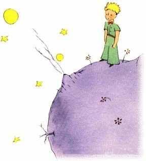 Le Petit Prince de Saint Exupery - petit livre tout mignon sur les relations entre les hommes, la nature, la curiosité et l'hypocrisie vénale des hommes