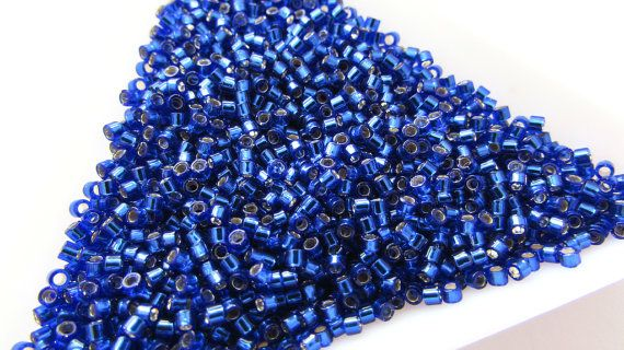 5g  Miyuki Size 11/0 Delica Beads  DB47  by ArtyBeadsStore on Etsy