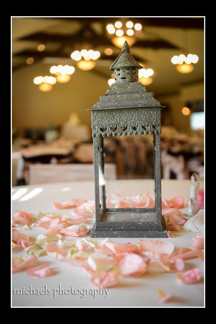 Lacie lantern by a wedding party rentals